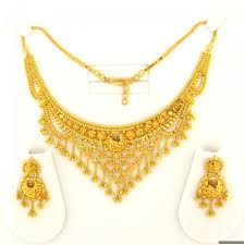 indian necklace sets images 22ct indian gold necklace set 1818 65 necklace sets indian jpg