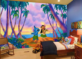 wall murals lilo and stitch fotomurales arte kids wall mural strawberry shortcake