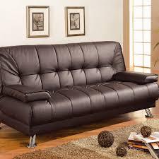 wildon home sleeper sofa in rich brown walmart com