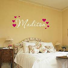 Personalized Wall Decals For Nursery Name Wall Decal Nursery Wall Decal Name Wall