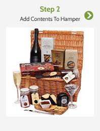 create your own gift basket build your own create luxury personalised gift baskets uk