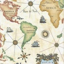 africa map fabric world map navigation antique large scale map design cotton fabric