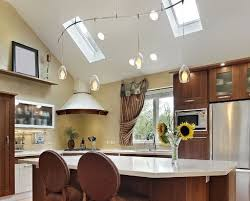 vaulted kitchen ceiling ideas tolle track lighting for vaulted kitchen ceiling ideas also home