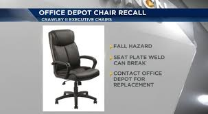 Officemax Chairs Recall Alert Fall Hazard From Office Chairs Wncn