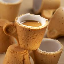 cup cuisine cookie cup creation of the day coffe lavazza