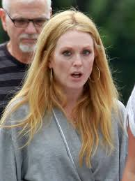 julie ann moore s hair color julianne moore blonde hair new dye job for role in maps to the