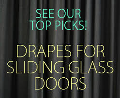 sliding glass door covering options drapes for sliding glass doors u2013 the 10 best list
