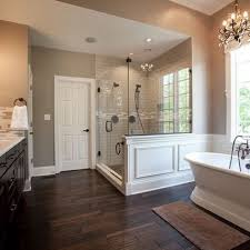 Wood Floor Bathroom Ideas Wood Tile For Bathroom Sbl Home