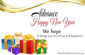 advance happy new year sms in wishes shayari msg