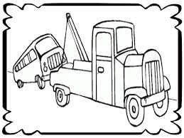 tow truck coloring pages and omeletta me