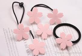 s hair accessories fashionable cherry blossom hair clip wholesale japan acrylic