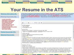 ats resume optimize your resume for applicant tracking systems