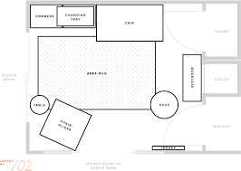 Floor Plan Furniture Nursery Makeover Floor Plan Furniture Layout Baby Boy Mstetson