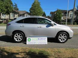 lexus rx 350 for sale in bc used 2010 lexus rx 350 nav awd insp warr for sale in surrey