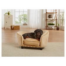 enchanted home pet ultra plush snuggle pet bed target