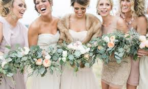 fur shawls for bridesmaids vera wang wedding archives grit gold event design dallas