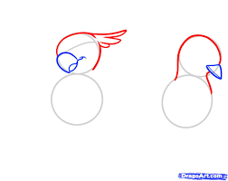 draw birds for kids step by step drawing sheets added by dawn