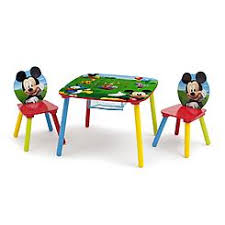 Mickey Mouse Activity Table Kids U0027 Character Furniture Kmart
