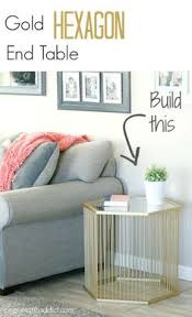 How To Make End Tables Taller by How To Make A Table Taller Brush Strokes And A Union Jack End