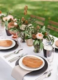 Table Setting Chargers - wood charger plates foter
