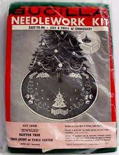 bucilla tree skirt needlecrafts yarn ebay