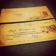 hotel gift certificates manila hotel gift certificate crowpod