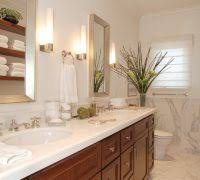 diy bathroom mirror frame ideas bathroom traditional with marble
