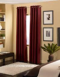 maroon curtains for living room dark maroon rod pocket matka raw