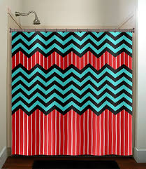 Red White And Blue Bathroom Red White And Blue Shower Curtain Curtains Wall Decor