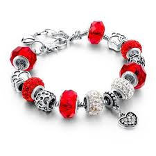murano beads bracelet images 925 silver crystal charm bracelets for women with purple murano jpg