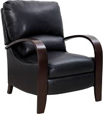28 accent recliner black leather accent recliner club chair