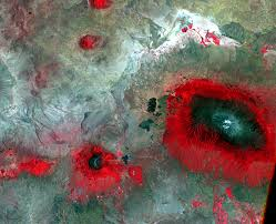 Mt Kilimanjaro Map Mount Kilimanjaro Tanzania Earthshots Satellite Images Of