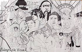 a visual biography of diego rivera