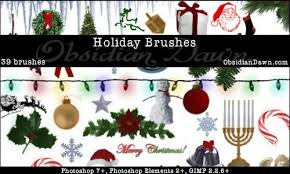 500 christmas photoshop brushes and other design resources free