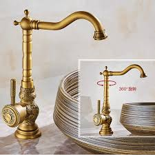 Gold Kitchen Faucet by Online Get Cheap Gold Kitchen Tap Antique Aliexpress Com