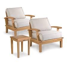 Veranda Collection Patio Furniture Covers - outdoor lounge seating set 3 piece set veranda collection