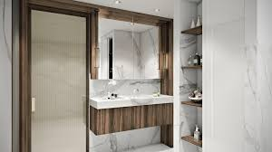3d interior visualization for a marvelous bathroom interior