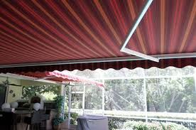 Oasis Awning Multiple Awnings Create A Relaxing Lanai Oasis Shade And Shield