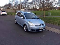 toyota corolla verso 2 2 d 4d t 5dr 2007 diesel 7seate manual