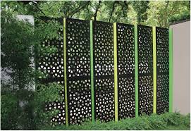 Backyard Privacy Screen by Backyards Terrific Backyard Privacy Screens Decorative Metal