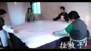 Chinese Silk Duvet Chinese Silk Quilt Youtube