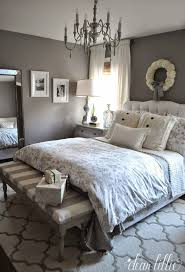 how to go glamorous with gray in your guest bedroom neutral