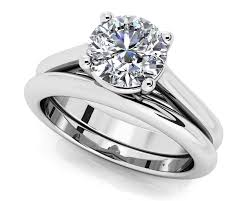 wedding ring sets customize your wedding set matching diamond bridal set