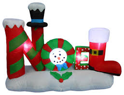 Outdoor Inflatable Christmas Decorations Ireland by Noel