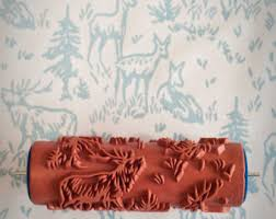 pattern paint roller online india the painted house by patternedpaintroller on etsy