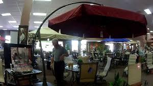 furniture large offset umbrellas costco cantilever umbrella