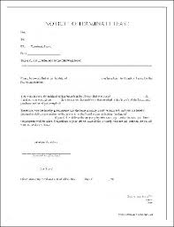 termination of lease agreement letter in south africa archives