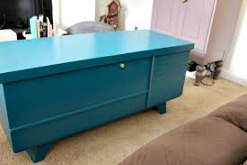 painting antique furniture cedar chest reveal tastefully eclectic
