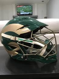 helmet design game warrior colorado state university rams horn helmet game worn