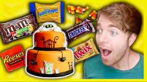 giant halloween candy cake youtube